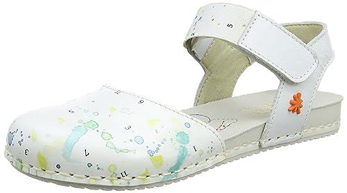 Art Kids PAN EU A275, Closed-Toe Fille, Blanc Cassé (Multi White), 37 EU