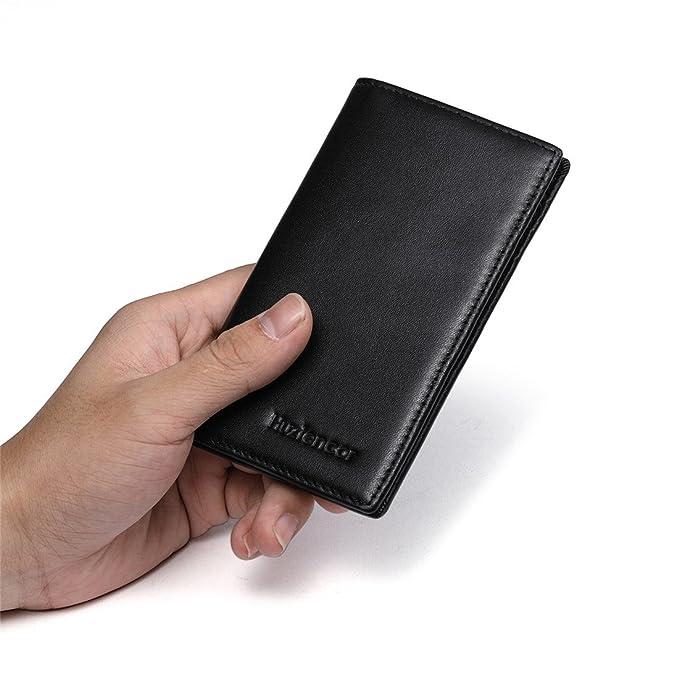 Amazon.com: huztencor Slim portafolios Titular de la tarjeta ...