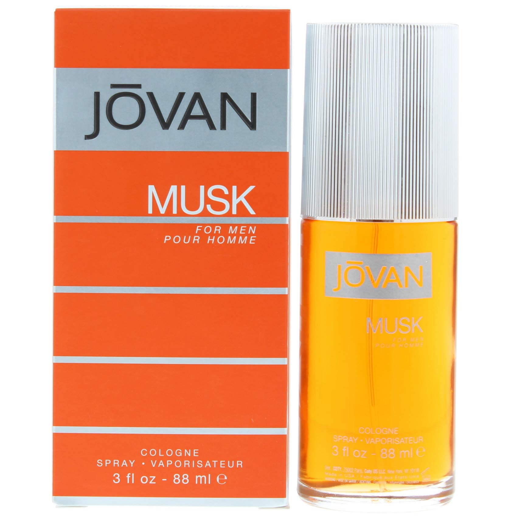 Jovan Musk by Coty for Men 3 Fl Oz,Cologne Spray
