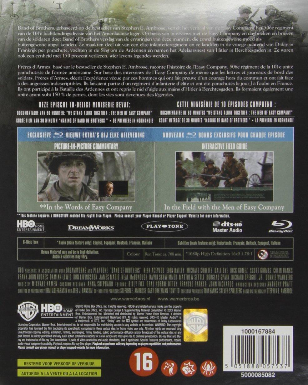 Band of brothers [Francia] [Blu-ray]: Amazon.es: Aaron ...