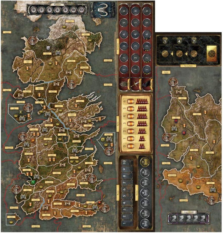 Juego de mesa Fantasy Flight Games A Game of Thrones , color/modelo surtido: Amazon.es: Juguetes y juegos