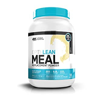 Optimum Nutrition Opti Lean Meal Replacement Vanilla, Sustitutivo de Comida - 954 g: Amazon.es: Salud y cuidado personal