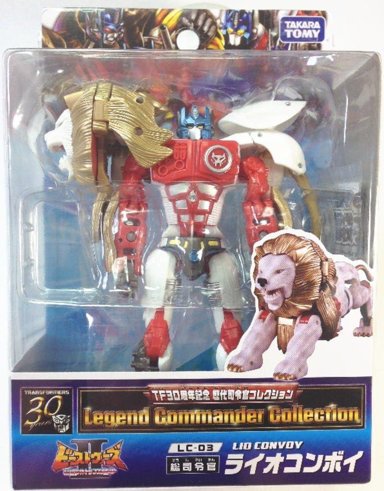 Transformers LIO CONVOY LC-03 30th Anniversary TAKARA TOMY Figure NEW Japan F//S