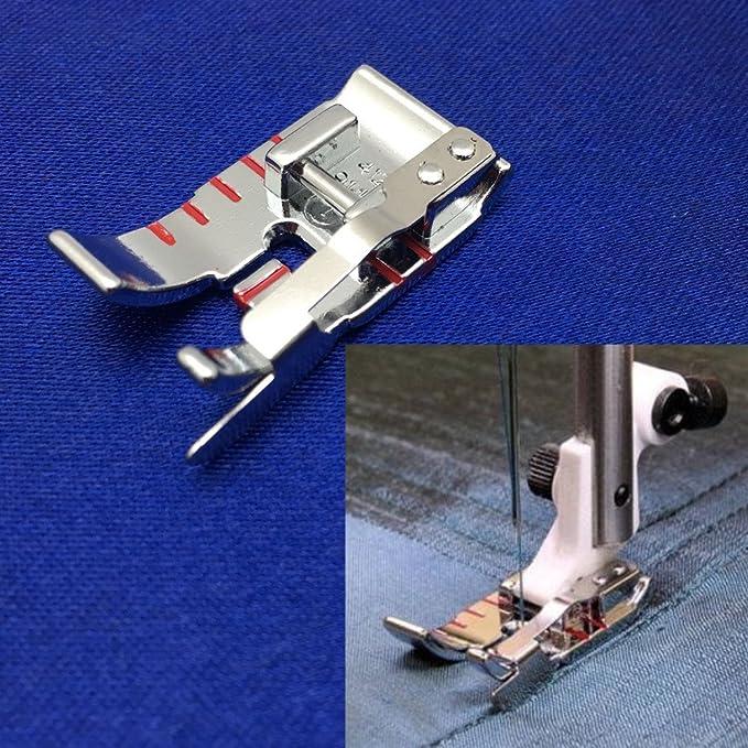 yeqin 1/4 borde costura pie para Husqvarna Viking máquina de coser 4129141 – 45: Amazon.es: Juguetes y juegos