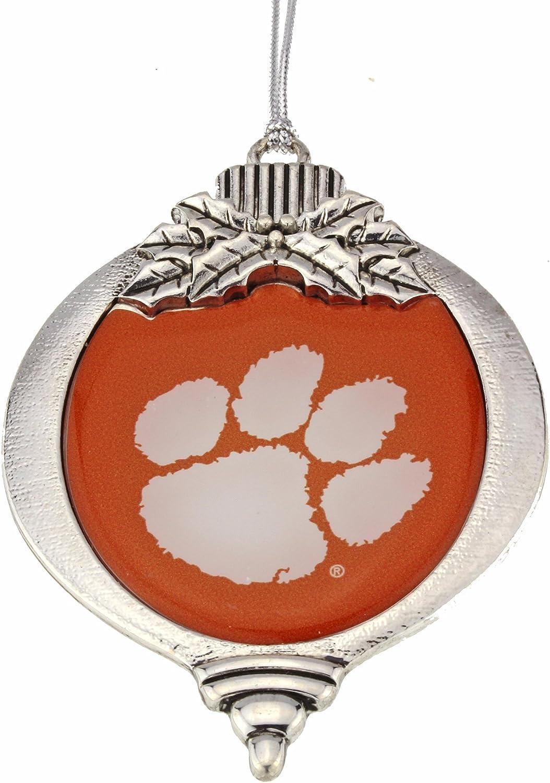 MadSportsStuff Clemson Tigers Christmas Ornament