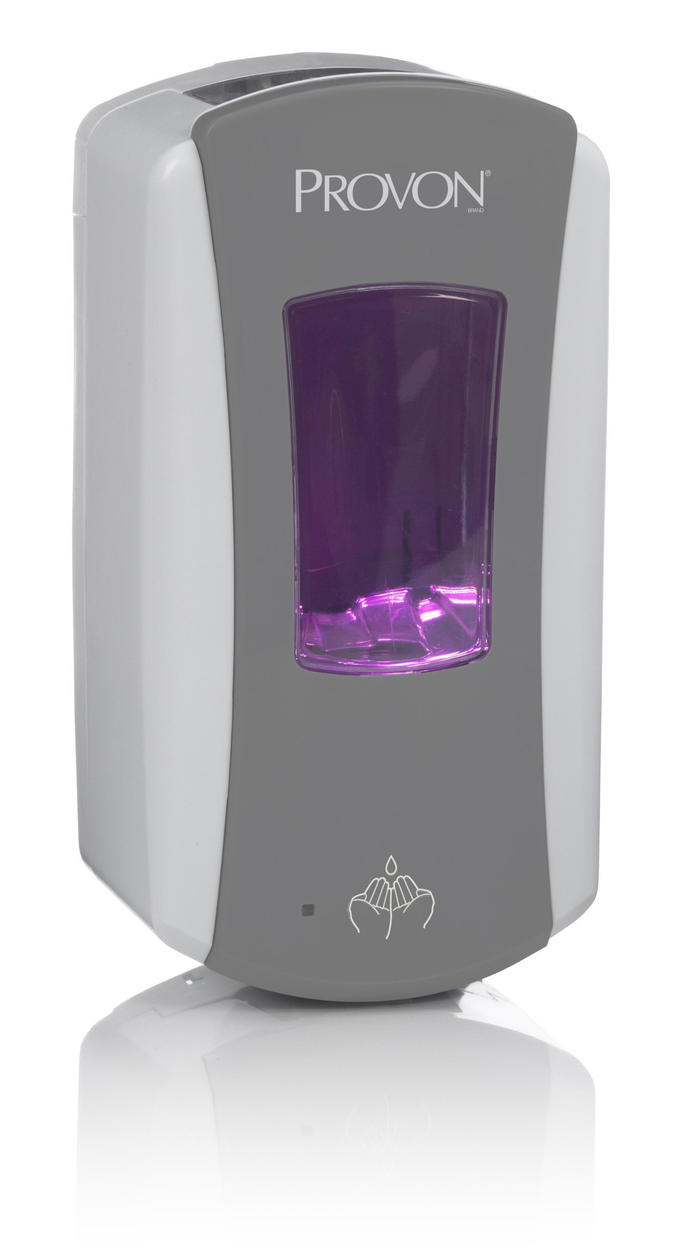 PROVON 1971-01 LTX-12 Dispenser, 1200mL Capacity, Grey/White
