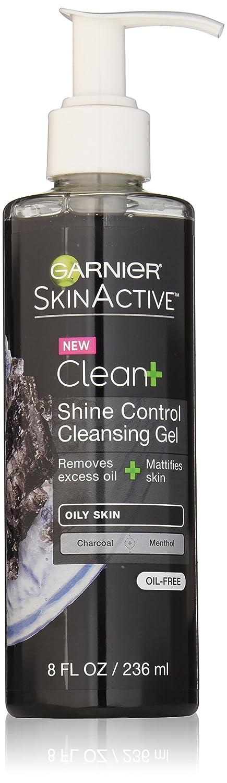 Garnier SkinActive Men's Shine Control Face Wash, For Oily Skin,8 fl. oz.