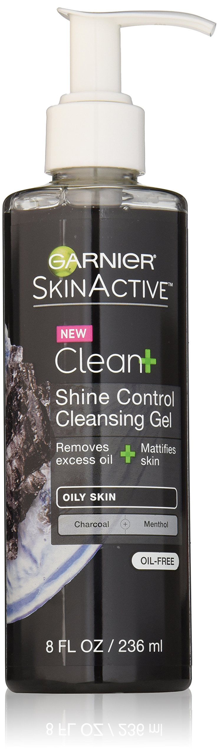 Garnier SkinActive Men's Shine Control Face Wash, For Oily Skin,  8 fl. oz.