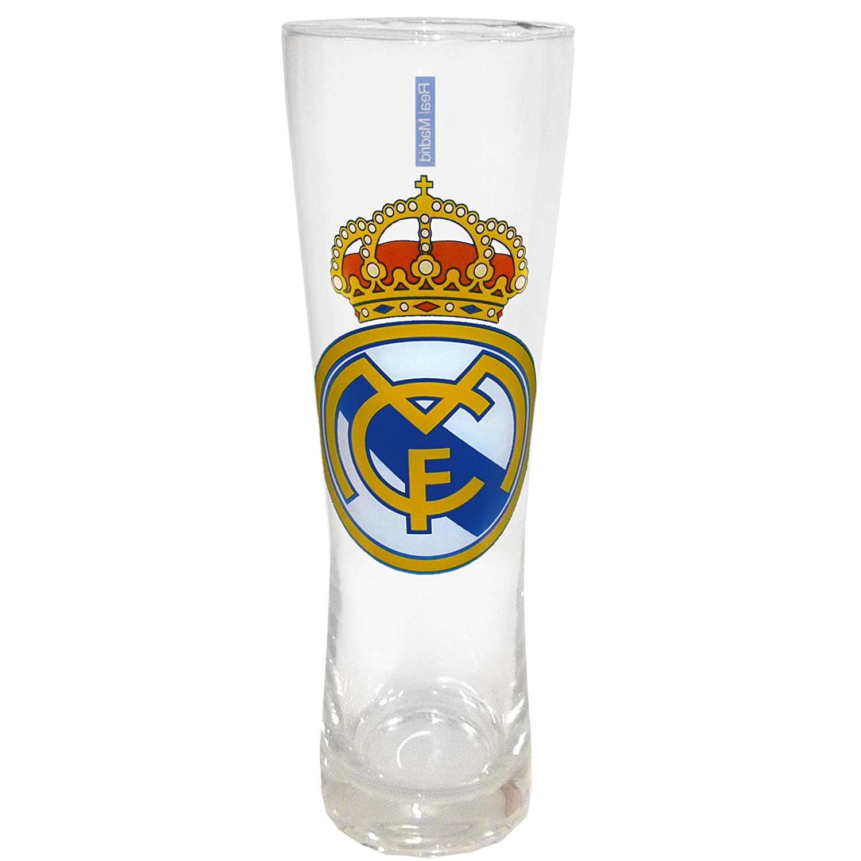 Estilo Real Madrid Oficial Peroni F/útbol Regalos Tall Pint Glass
