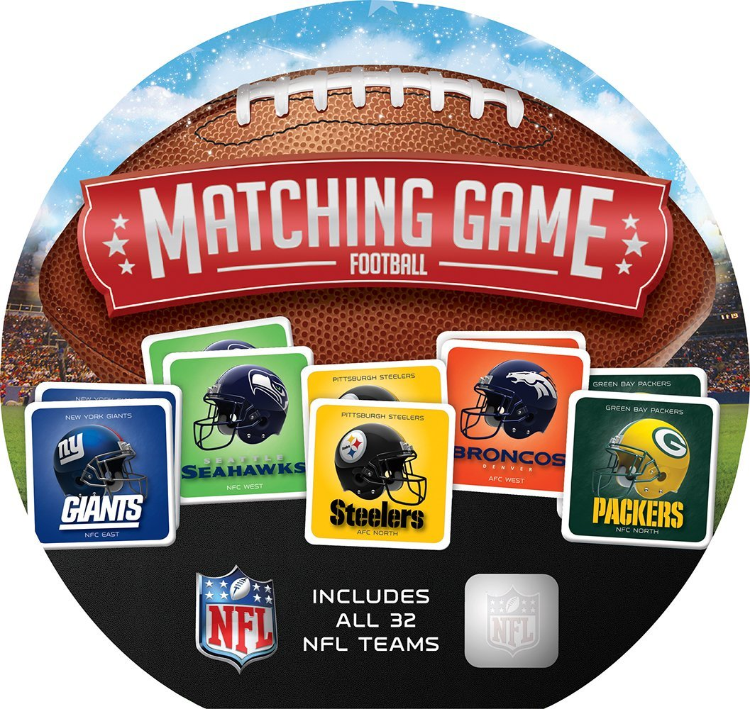 MasterPieces NFL Football Teams Matching Game