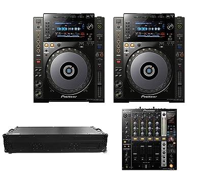 Amazon.com: 2 x Pioneer CDJ-900 Nexus + djm-750 + ataúd ...