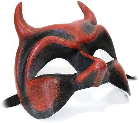 kleine original venezianische Maske für Karneval Maskenball Fasching Handmade