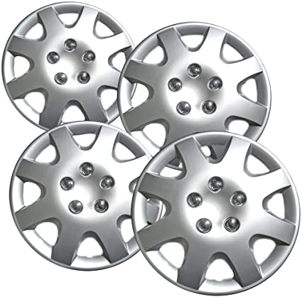 15 inch Hubcaps Best for 1998-2002 Honda Accord - (Set of 4)
