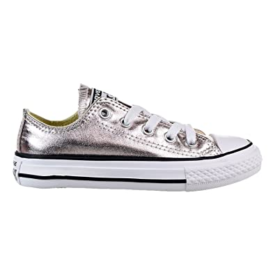 Converse Chuck Taylor All Star Ox Little Kid s Shoes Rose Quartz White Black  357661f 72c2babf8