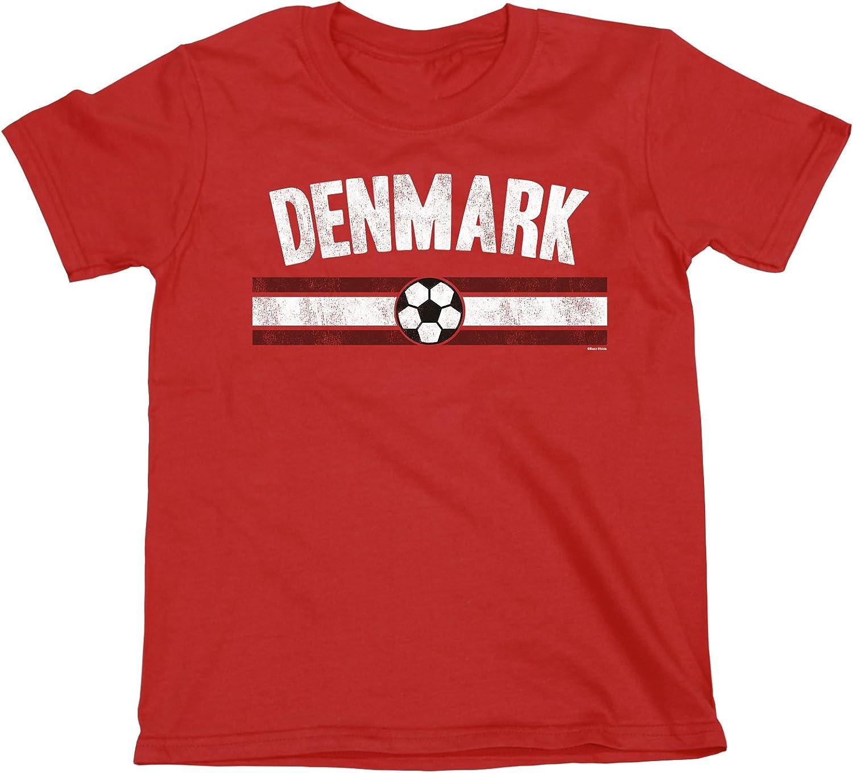 buzz shirts NIÑOS O NIÑAS Denmark Distressed Country FÚTBOL ...