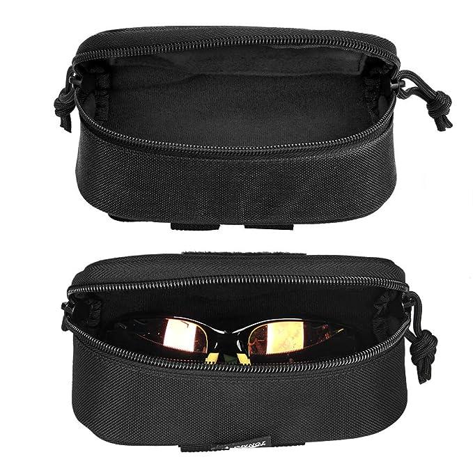 Amazon.com: Canis Sport Inc Molle - Funda rígida para gafas ...
