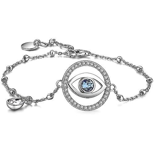 immagini ufficiali più amato codice promozionale BROSWAY - Bracciale in argento con centrale occhio e ...