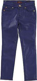 7 for All Mankind Girls Coated Denim Skinny Legging Jeans