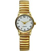 Lancardo Reloj Analógico de Movimiento Cuarzo Original Dial con Grandes Números Árabes Pulsera Electrónica de Moda con…