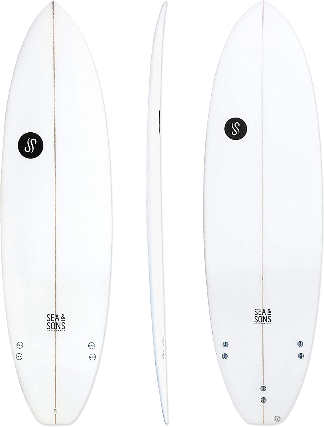Sea & Sons Surfboards EVO Tabla de Surf