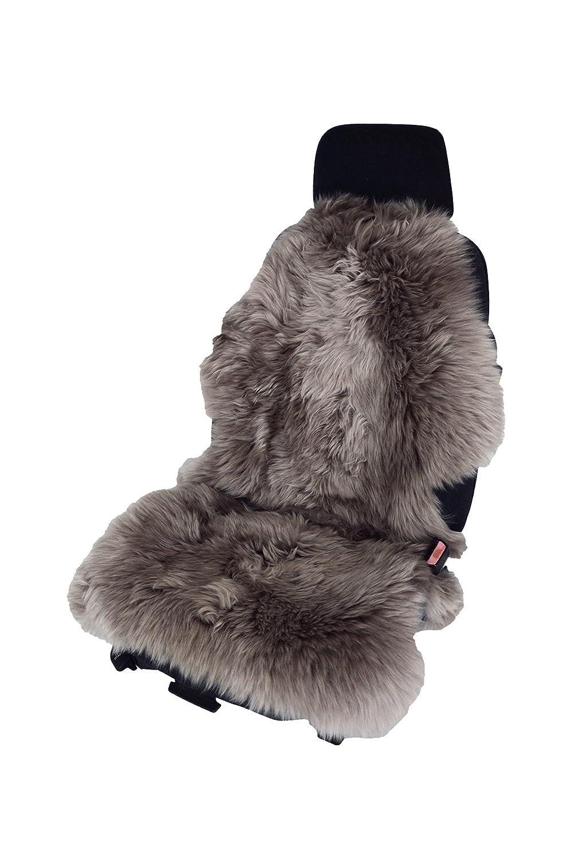Leibersperger Felle, coprisedile universale per auto, in pelliccia di agnello, di forma naturale, per sedili in pelle Leibersperger-Felle AFU-110