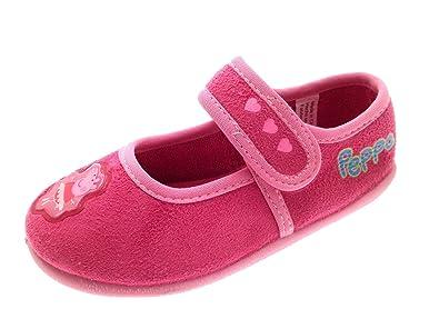 Kids Girls Peppa Pig Novelty Slippers Fleece Character Boots Gift Size UK 8