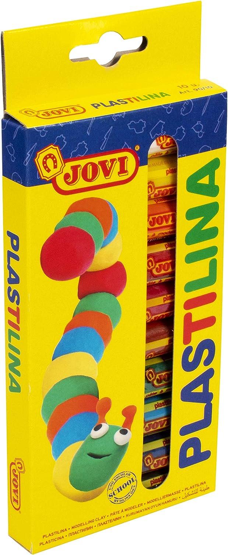 Jovi- Plastilina, 10 colors (216005): Amazon.es: Juguetes y juegos