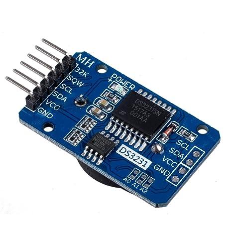 WINGONEER DS3231 AT24C32 I2C Tiny Módulo de precisión en tiempo real módulo de reloj para Arduino