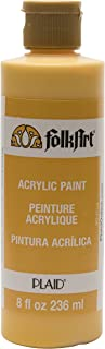 product image for FolkArt Acrylic Paint in Assorted Colors (8 oz), , School Bus Yellow