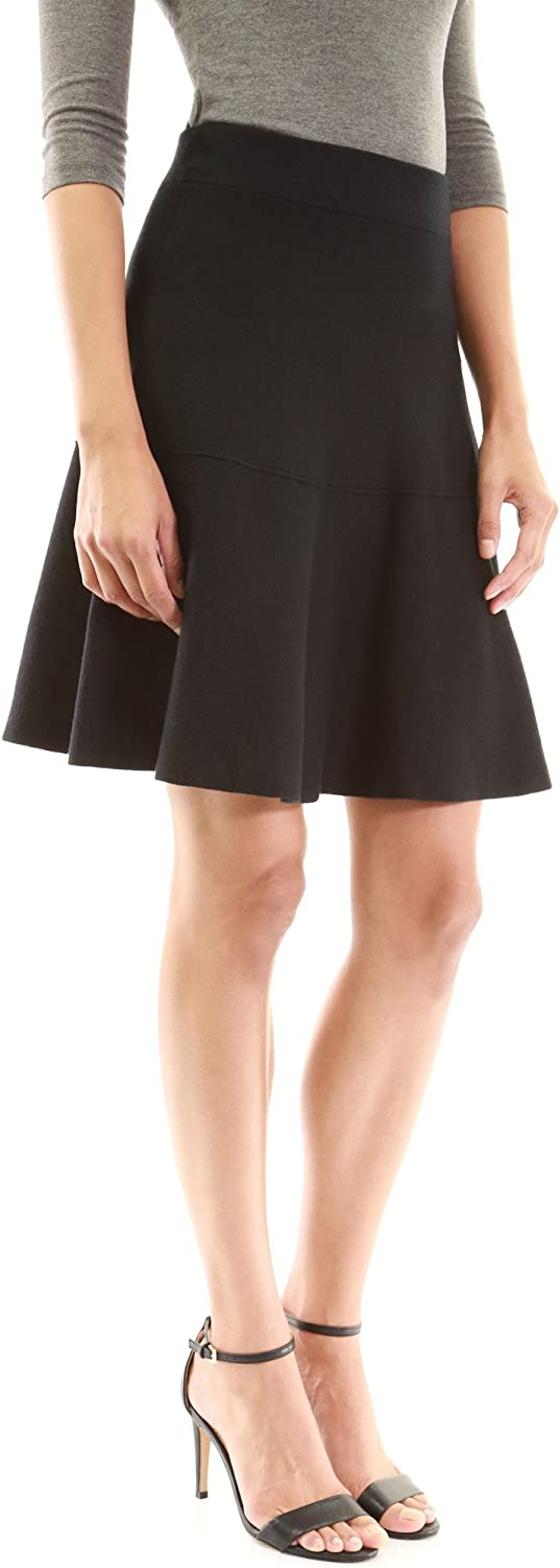 PattyBoutik Women Fit and Flare Knit Sweater Skirt