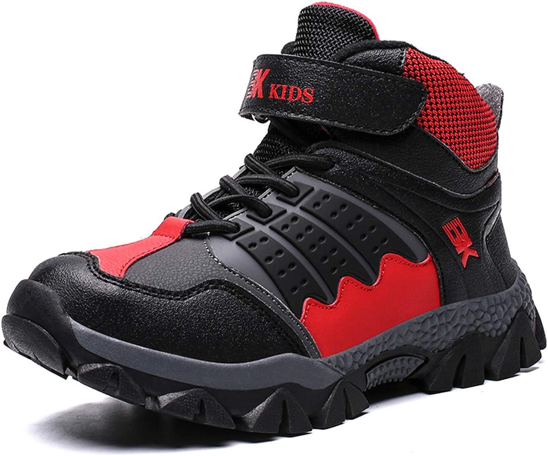 WOWEI Scarpe da Escursionismo Unisex Bambino Sportive Allaperto Impermeabili Traspiranti Stivali da Neve Trekking Sneakers 32-41 EU