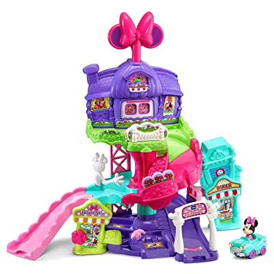 VTech Go! Go! Smart Wheels - Disney Minnie Mouse Around Town Playset: Toys & Games