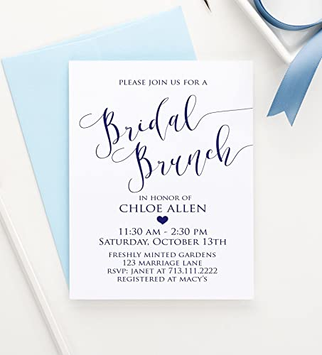 Amazoncom Bridal Brunch Shower Invitations Brunch Bridal Shower