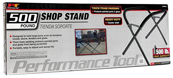 Amazon.com: Performance Tool W54024 Shop Stand for Bumpers, Hoods, Doors, fenders, Glass and More (500 lb. Capacity): Automotive