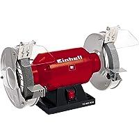 Einhell Dubbelkvarn TC-BG 200 (400 W, hastighet 2950 min-1, 230 V / 50 Hz, inkl. Grov och fin slipskiva med diameter 200…
