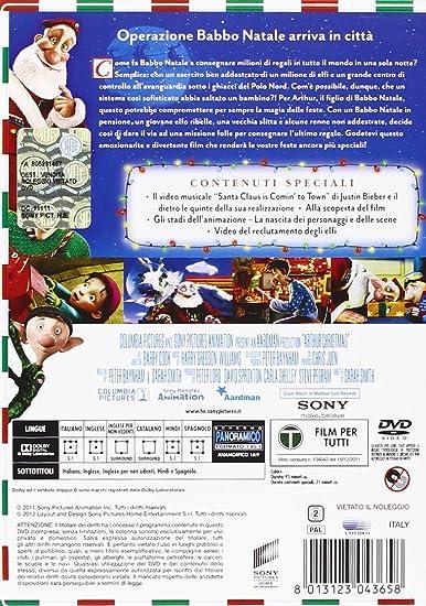 Babbo Natale In Spagnolo.Il Figlio Di Babbo Natale Amazon It Cartoni Animati Film E Tv