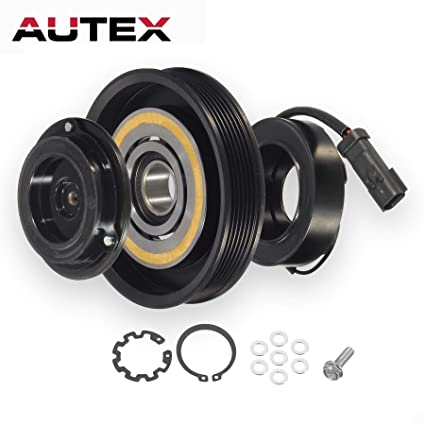 AUTEX AC A/C Compressor Clutch Coil Assembly Kit 55111436AB Fits for 2008 2009 2010