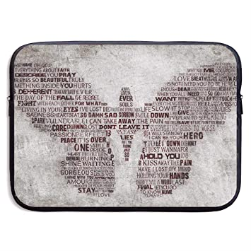 98594a043d24 Amazon.com: Fashion Laptop Liner Sleeve Case Butterfly Flying Words ...