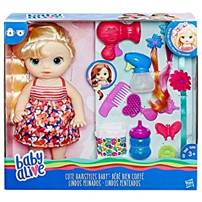 Baby Alive Cute Hairstyles Baby: Toys & Games