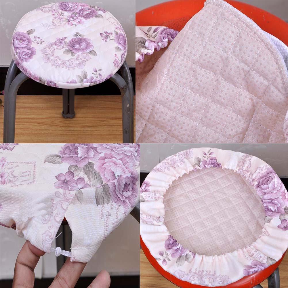rosa Black Temptation Kreative einfache Art rundes Sitzkissen weich und bequem Sitzbezug