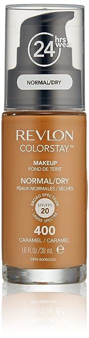 Amazon.com : Revlon ColorStay Makeup For Normal/Dry Skin, Caramel ...