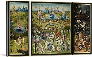 ARTCANVAS The Garden of Earthly Delights 1515 Canvas Art Print by Hieronymus Bosch - 18