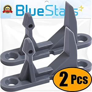 Ultra Durable 131763302 Washer Door Striker Replacement Part by Blue Stars - Exact Fit for Frigidaire Electrolux Washer - Replaces 131763302 131763340 134456602 134456640 - PACK OF 2