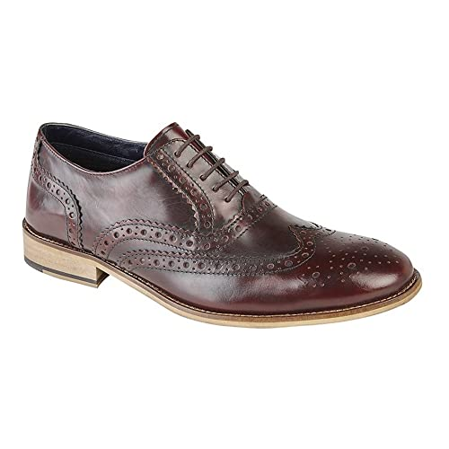 Roamer Roamers Mens Leather Brogue Oxford Shoes B073TQNFWD