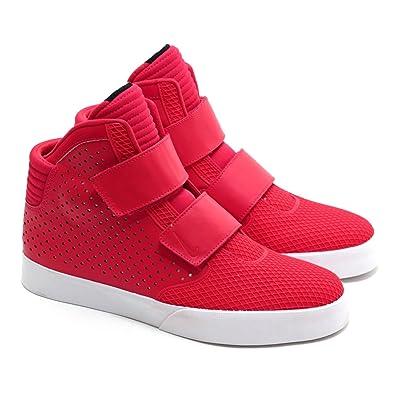 hommes nouvelles nike flystepper chaussures k3 pmr haut chaussures flystepper rouges 12830c