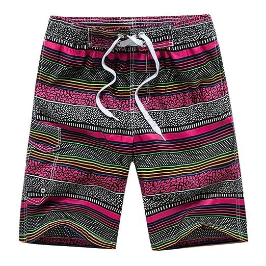 e40352a7923fc Amazon.com  Makeupstory White Beach Shorts for Men