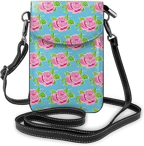 Lilyo-ltd Tropical Rose Ocean - Bolso bandolera para teléfono ...