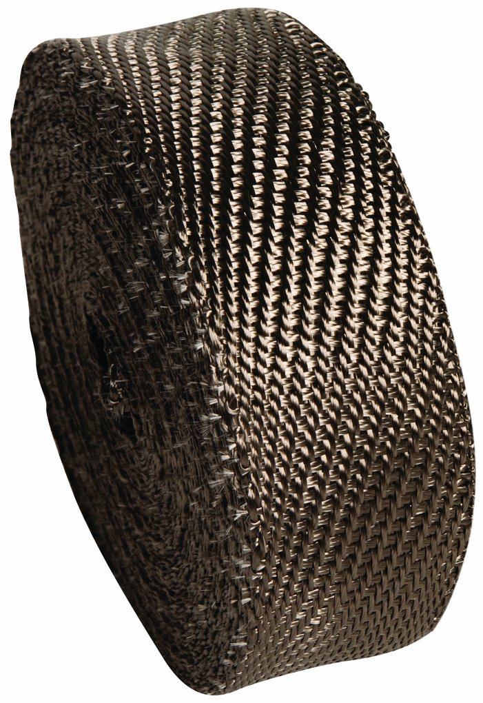 Heatshield Products 372025 2' Wide x 25' Lava Header and Exhaust Insulating Heat Wrap Roll