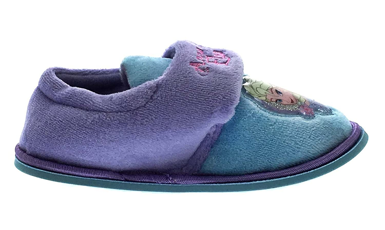 Disney Frozen Girls Frozen Velcro Slipper
