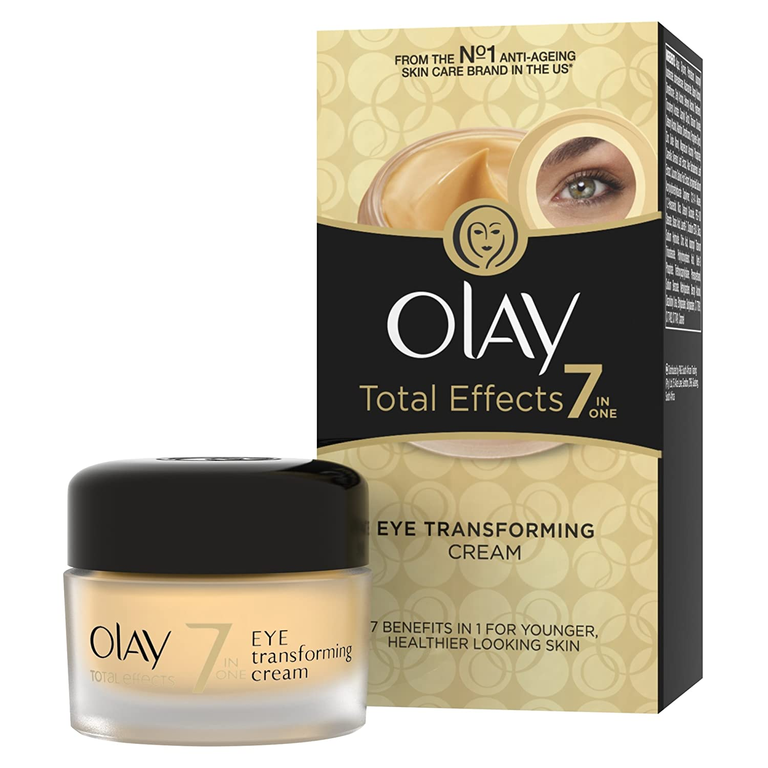 OLAY Total Effects Anti-Aging Eye Transforming Cream 0.5 oz Gerber Toddler Tooth And Gum Cleanser - 1.4 Oz, 2 Pack
